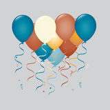 Balloons illustration Royalty Free Stock Photography