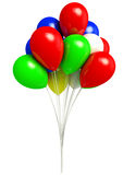 Balloons illustration Stock Images