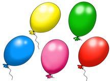 Balloons illustration Royalty Free Stock Photos