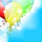 Balloons In Sky Stock Photos