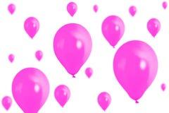 Balloons isolated Stock Photo