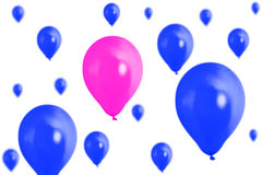Balloons isolated Royalty Free Stock Image