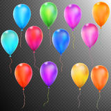 Balloons isolated. EPS 10 Stock Photography