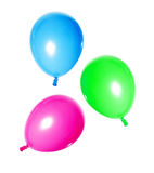 Balloons isolated on white Royalty Free Stock Images