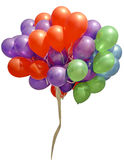 Balloons isolated Royalty Free Stock Images