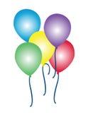 Balloons l'illustrazione Immagine Stock Libera da Diritti