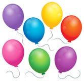 Balloons l'immagine 1 di tema Fotografie Stock
