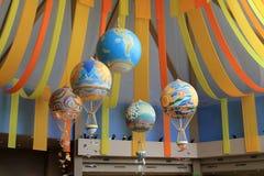 Balloons at the Land Pavilion Stock Photo