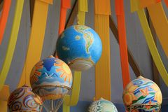 Balloons at the Land Pavilion Stock Photography