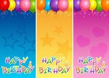 Balloons le insegne Fotografia Stock