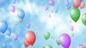 Balloons stock video
