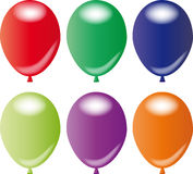 Balloons multi Royalty Free Stock Photography