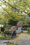 Balloons o banquete de casamento fotos de stock