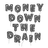Balloons o dinheiro Ilustração Royalty Free