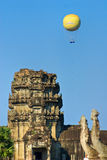 Balloons over Angkor wat, cambodia. Stock Photography