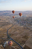 Balloons over Cappadocia Royalty Free Stock Image