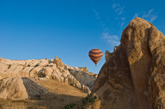 Balloons over Cappadocia Royalty Free Stock Photography