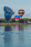 Balloons over Waikato Stock Image