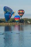 Balloons over Waikato Stock Image