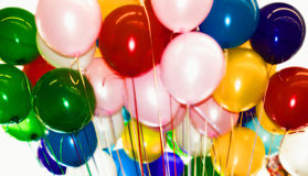 balloons party 免版税图库摄影