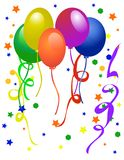 Balloons for party  Stock Image