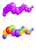 Balloons party Stock Image