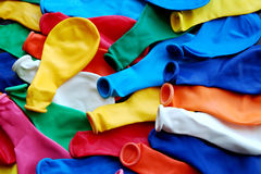 Balloons for party. Colorful balloons in preparation for party Royalty Free Stock Photo
