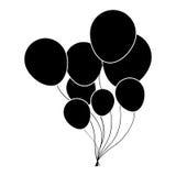 Balloons party icon image Stock Photo