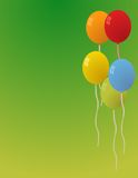 Balloons for party vector Royalty Free Stock Images