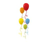 Balloons for party vector Stock Images