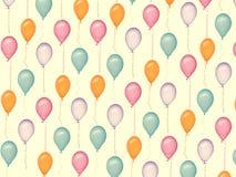 balloons patterns Royalty Free Stock Image