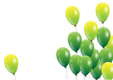 Balloons,pink balloon on white background.Vector illustration royalty free illustration