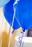 Balloons with Ribbons Royalty Free Stock Photography