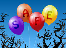 Balloons Safe Stock Photography