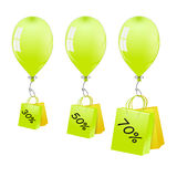 Balloons Sale Stock Images
