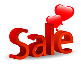 Balloons sale promotion Stock Photography