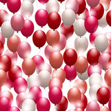 Balloons. Seamless festive pattern. Background for design. And decor Royalty Free Stock Images