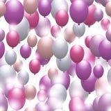 Balloons. Seamless festive pattern. Background for design Stock Photo