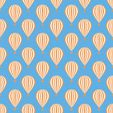 Balloons seamless pattern Royalty Free Stock Photo