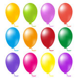 Balloons set vector Royalty Free Stock Photo