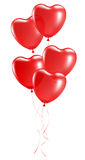 Balloons in the shape of heart Stock Photography