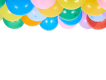 Balloons showing splendid colors closeup. Stock Images