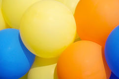 Balloons showing splendid colors Stock Photo