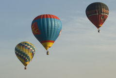 Balloons in Sky Royalty Free Stock Photography