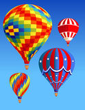 Balloons_in_the_sky Stock Image