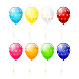 Balloons with stars Stock Photos