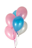 Balloons in strings Royalty Free Stock Image
