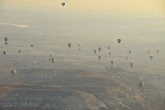 Balloons Take Flight Stock Images