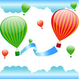 Balloons with the text Stock Images