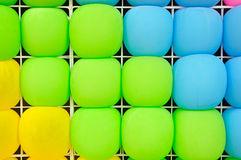 Balloons texture. Color full balloons texture show texture background Royalty Free Stock Photography
